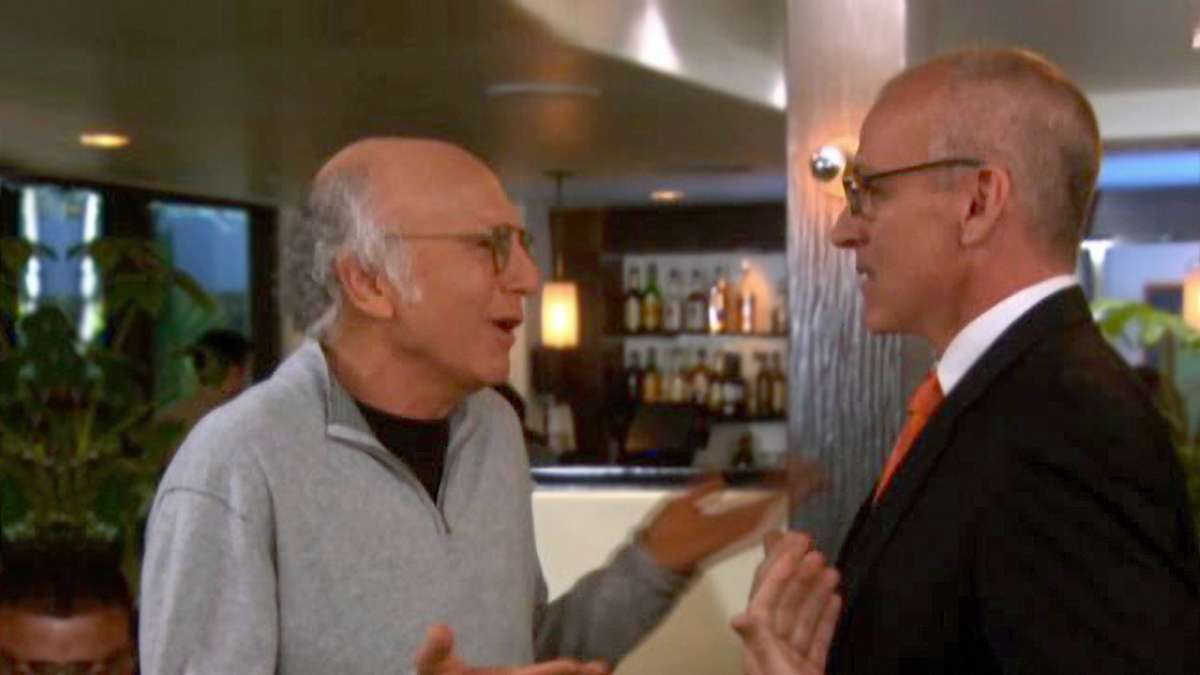 Larry David on palm greasing